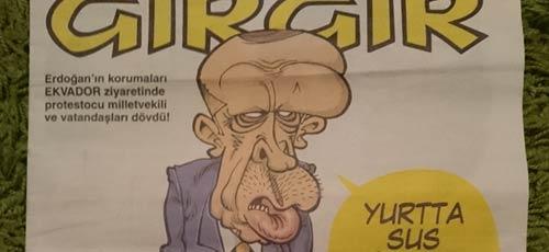 Satire, Nachrichten- und Social-Media-Sperren in der Türkei